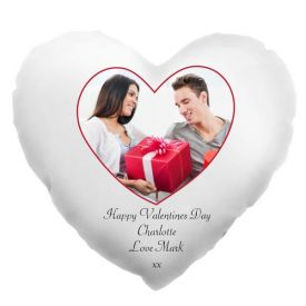 Heart Shape Led Pillow Personalized With Photo